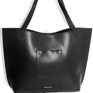 BCBG MAXAZRIA large leather tote